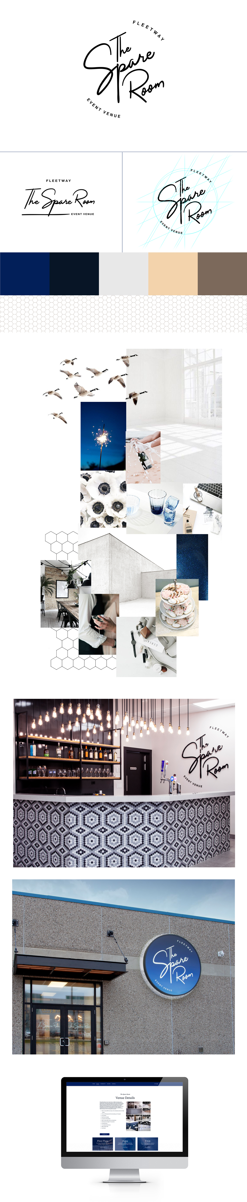 The Spare Room Branding Overview